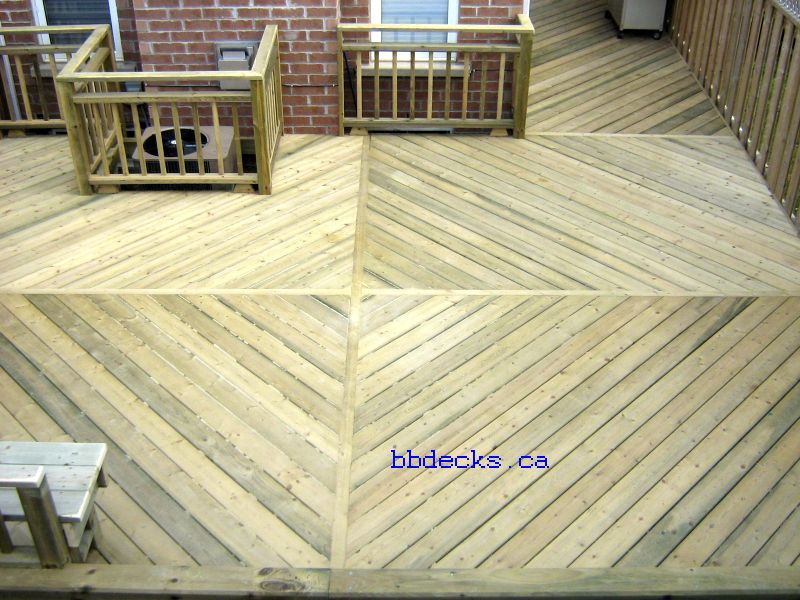 Low decks low deck designs low elevation decks for Low elevation deck plans
